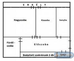 Eladó salgótarján központjában 2 szobás iii. emeleti lakás!