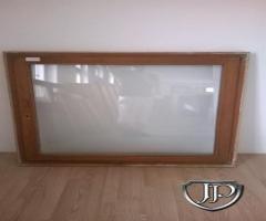 120x130 cm méretű használt fa ablak - ajto-ablak-guru - szeghalom